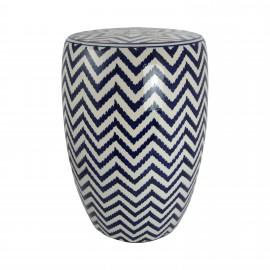 STOLIK CHEVRON BLUE